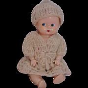 Vintage Plastic Doll Circa 1950's