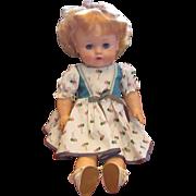 Vintage Circa 1950's Doll All Original