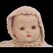 Vintage Baby Doll Knit Bonnet