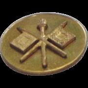 Vintage World War 2 Military Army Signal Corp Pin