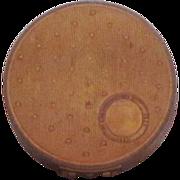 Vintage Metal Rouge Compact