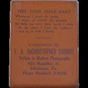 Vintage Celluloid Advertising Mirror Circa 1930's