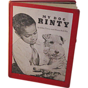 "Rare 1966 Black Americana Book ""My Dog Rinty"""
