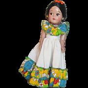 Vintage circa 1960's Hispanic or Latina Doll
