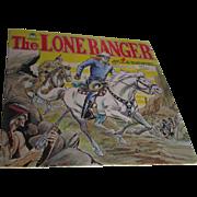 Vintage Lone Ranger LP Record