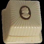 Vintage 1940's  Cameo Ring Box Bakelite?