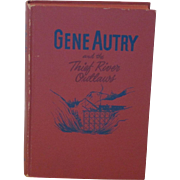Vintage 1944 Gene Autry Cowboy Book