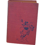 Vintage 1937 Hopalong Cassidy Book