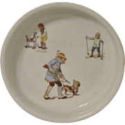 Antique German Baby Dish