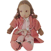 Vintage Norah Wellings Felt Doll