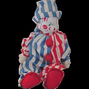 Vintage Gund Clown Doll