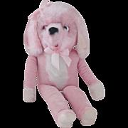 Vintage 1950's Pink Poodle
