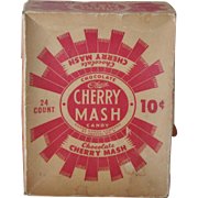 Vintage Advertising Candy Box