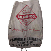 Vintage Advertisement Farmers Apron
