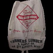 Vintage Advertisement Farmers Apron