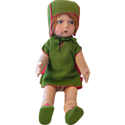 Lenci Style Felt Doll