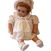 Vintage Baby Georgene Composition Doll
