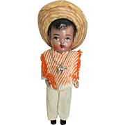 Vintage Hispanic Doll