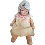 Vintage Cloth Doll All Original