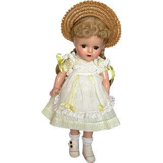 Vintage Composition Doll Marked All Original