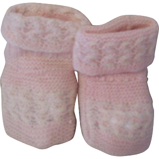 Vintage Baby Doll Booties