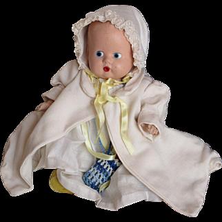 Vintage Composition Doll All Original