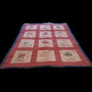 Vintage Baby/ Doll  Blanket