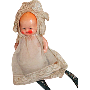 Vintage German Bisque Doll All Original