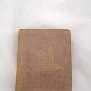 "Antique Civil War Era Book ""Songs Divine and Moral """