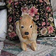 Vintage Circa 1960 Dakin Stuffed Cocker Spaniel Dog