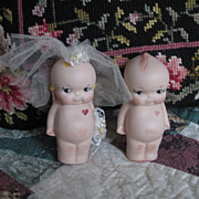 Vintage Kewpie Bride and Groom