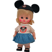 Vintage 1971 Horsman Disney Mousekateer Doll
