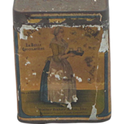 Antique Cocoa Tin
