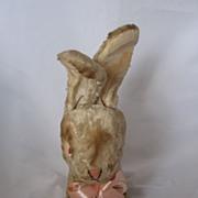 Vintage Circa 1960's Grungy Primitive Bunny Too CUTE!