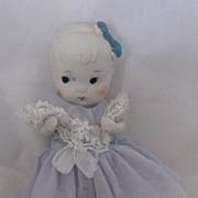 Vintage 5 inch Bisque Doll All Original