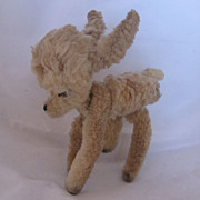 Vintage Chenille Baby Deer Perfect For Display