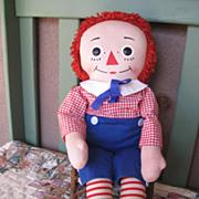 Vintage 1960's 20 inch Knickerbocker Raggedy Andy