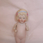 Vintage Nippon Bisque Doll Adorable Circa 1920