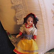 Antique Ernst Heubach Doll All Original