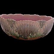 Majolica Shell and Seaweed Bowl