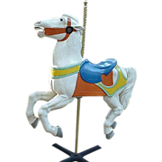 Carousel Horse Made By The Philadelphia Toboggan Co. , 1922