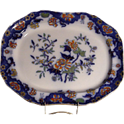 Early 19th Century  Copeland and Garrett Ironstone Platter