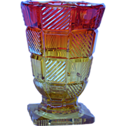Amberina Vase