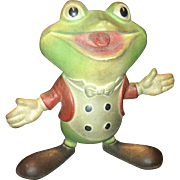 Vintage Frog Squeak Toy