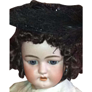 Doll or Child Mourning Hat
