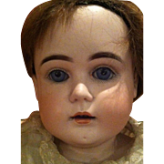 Early Kestner, Turned Shoulder Head Bisque Doll Late 19th to 20th century