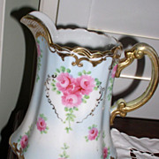 Early Hand Painted Nippon Pitcher