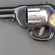 Lone Ranger 1938 Pressed Steel Toy Gun with Decal