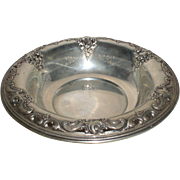 Grande Baroque Serving Bowl Wallace Sterling Silver