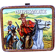 Gunsmoke TV Show 1972 Metal Lunchbox